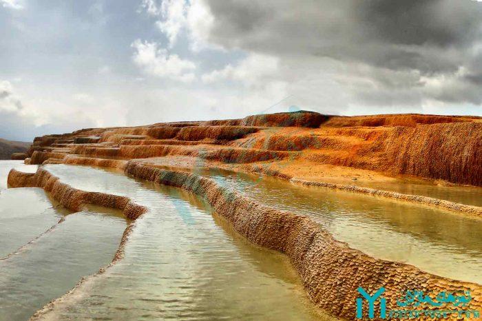 تور باداب سورت ، دومین چشمه آب شور جهان