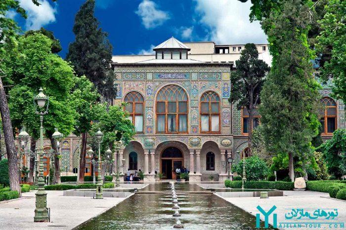 تور کاخ گلستان ، مجموعه میراث جهانی