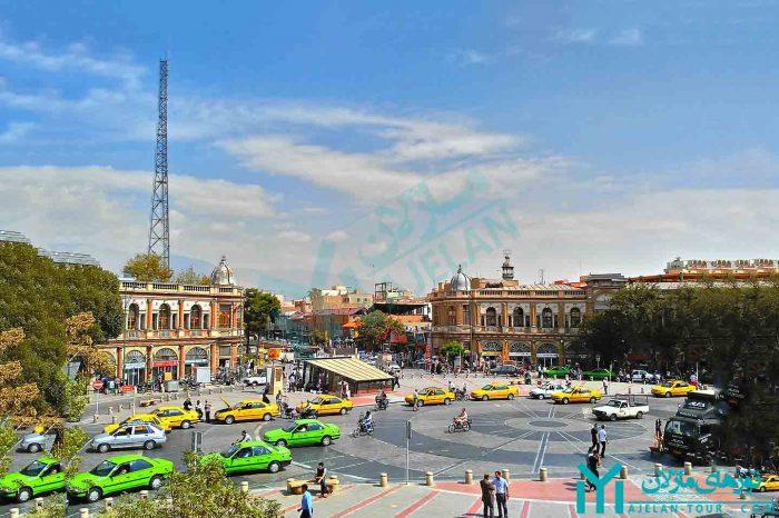 تور میدان حسن آباد ، نگینی در قلب تهران قدیم