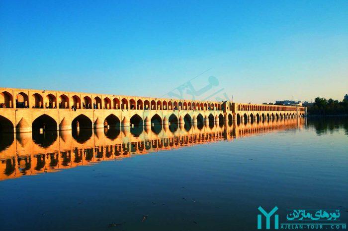 تور پلهای تاریخی اصفهان