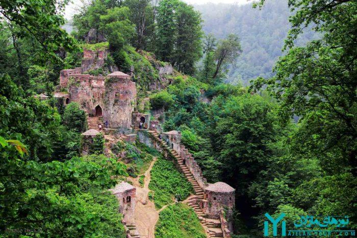 تور ماسال قلعه رودخان ماسوله