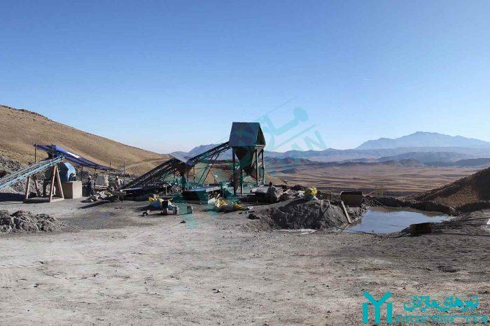 تور معدن باریت زیزگان قم