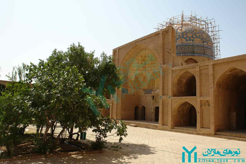 تور ساوه - مسجد جامع ساوه