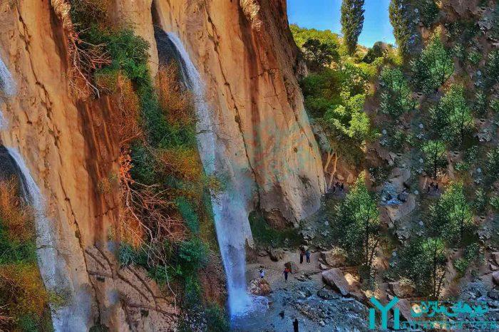 تور آبشار شاهان دشت ، بلندترین آبشار مازندران