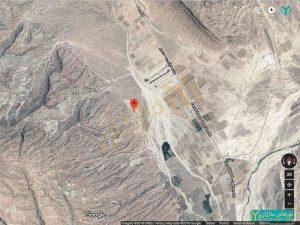 موقعیت منطقه خرقه نسبت به جاده فیروزآباد استان فارس
