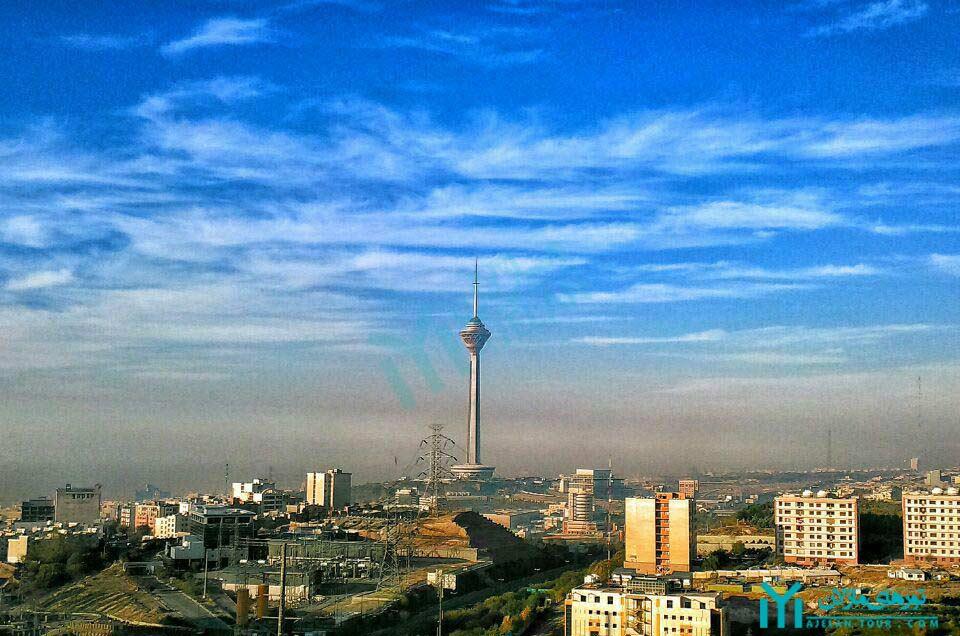 برج میلاد - تورهای یک روزه تهران گردی