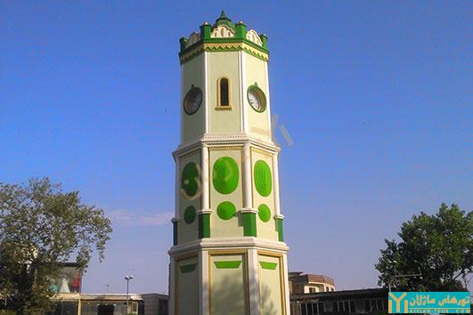 تور قائم شهر و ساری - برج ساعت ساری
