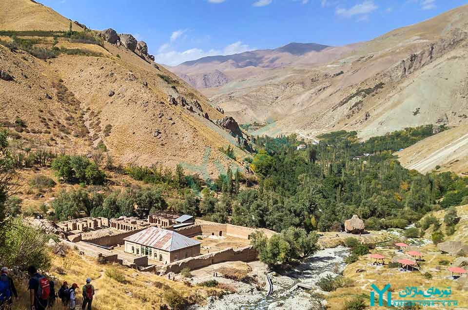 عمارت ناصر ، روستای شهرستانک - گردشگری کرج