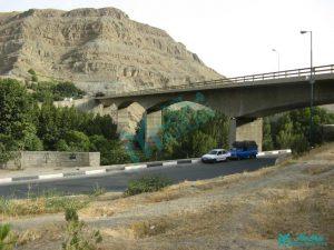 پل امیرکبیر - ابتدای محور گردشگری کرج - چالوس