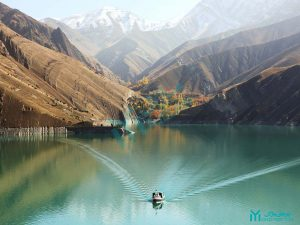 دریاچه سد امیرکبیر و دهکده واریان - گردشگری کرج