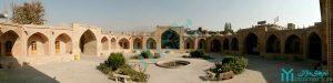 سراسرنمای کاروانسرای شاه عباسی - گردشگری کرج
