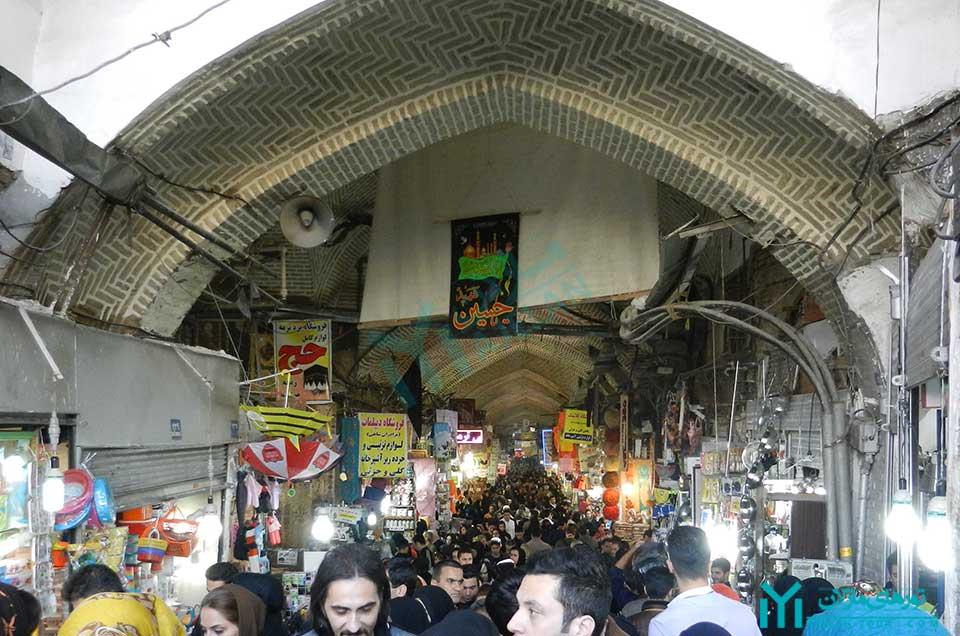 محله بازار تهران - سبزه میدان