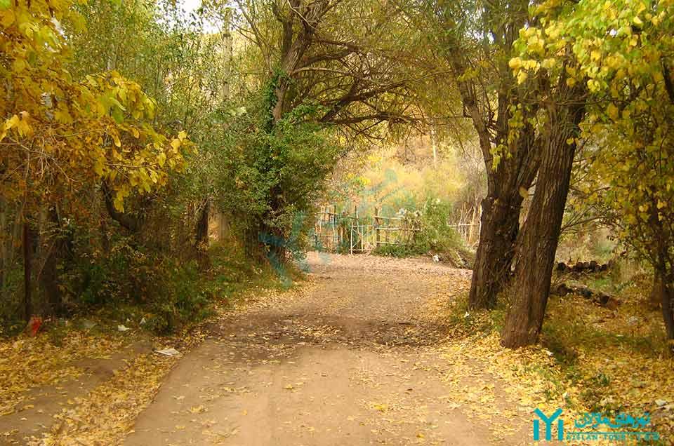 روستای جوستان - گردشگری طالقان