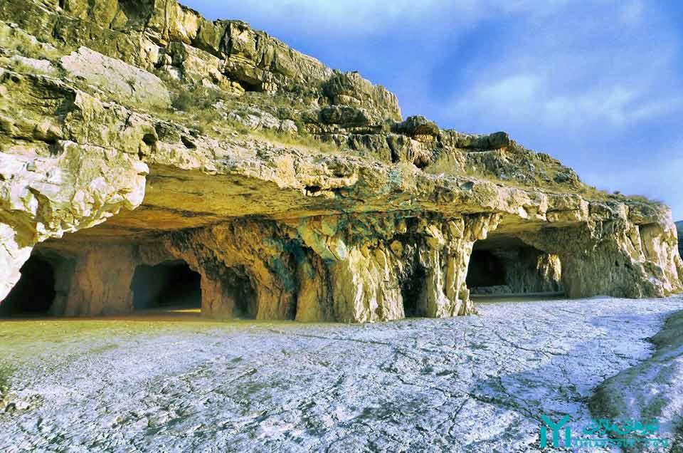 غار سنگشکنان - گردشگری جهرم
