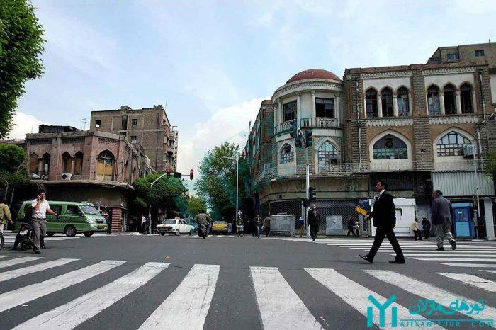 تور خیابان لاله زار ، شانزه لیزه تهران