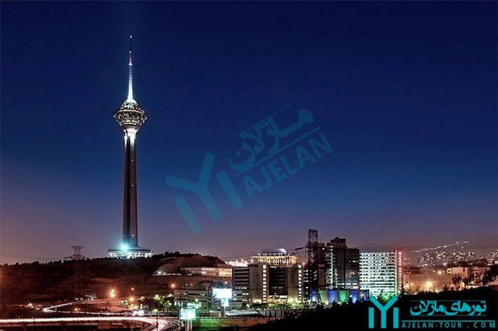 تور غرب تهران