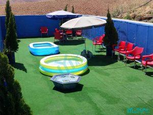 مزرعه خورشید - حوضچههای بازی کودک